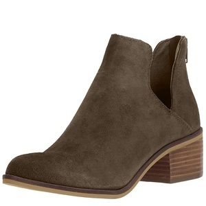 Steve Madden Lancaster Booties Taupe - LIKE NEW